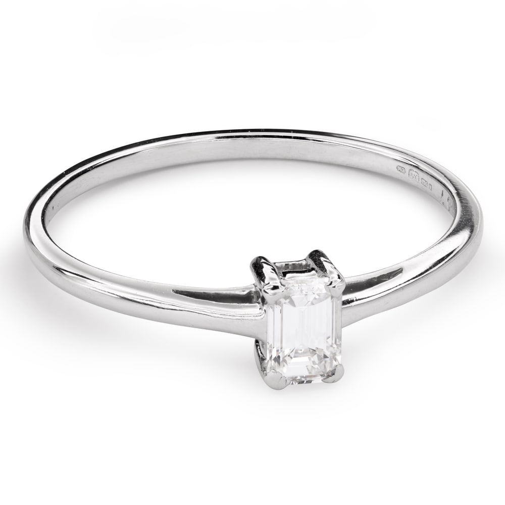 """Saderināšanās gredzens ar Dimantu """"Stiprums 104"""""""