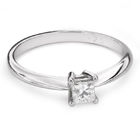 """Saderināšanās gredzens ar Dimantu """"Princese 83"""""""