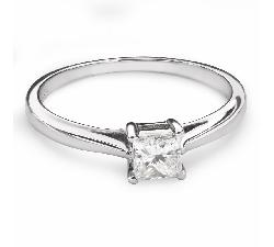 """Saderināšanās gredzens ar Dimantu """"Princese 84"""""""