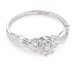 """Помолвочное кольцо с Бриллиантом """"Возлюбленный 132"""""""