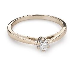 """Помолвочное кольцо с Бриллиантом """"Чистая 36"""""""