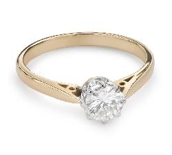 """Помолвочное кольцо с Бриллиантом """"Единственная 115"""""""