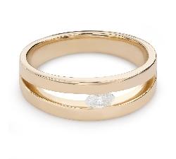 """Помолвочное кольцо с Aлмазом """"Среди скал 34"""""""