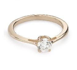 """Помолвочное кольцо с Бриллиантом """"Богиня 133"""""""