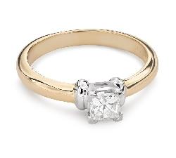 """Помолвочное кольцо с Aлмазом """"Принцесса 87"""""""