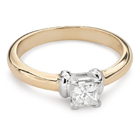 """Saderināšanās gredzens ar Dimantu """"Princese 87"""""""