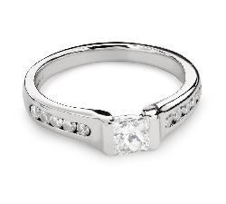 """Saderināšanās gredzens ar Dimantu """"Princese 89"""""""