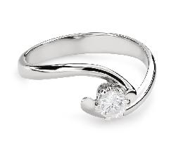 """Помолвочное кольцо с Бриллиантом """"В объятиях любви 49"""""""