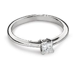 """Помолвочное кольцо с Aлмазом """"Принцесса 90"""""""