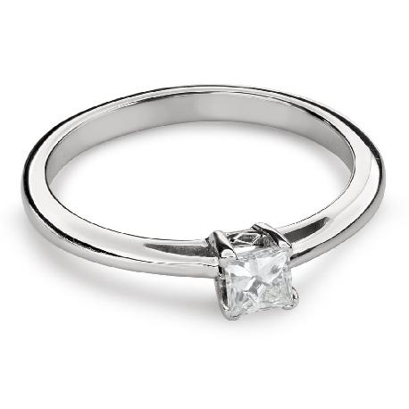"""Saderināšanās gredzens ar Dimantu """"Princese 90"""""""