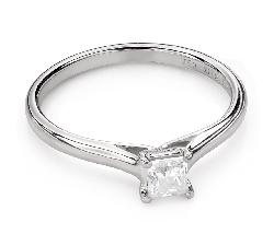 """Saderināšanās gredzens ar Dimantu """"Princese 92"""""""
