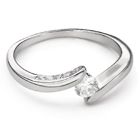 "Помолвочное кольцо с Бриллиантами ""В объятиях любви 52"""
