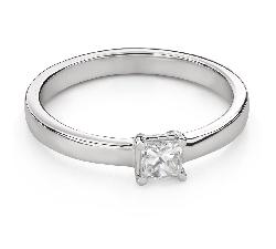 """Помолвочное кольцо с алмазами """"Принцесса 94"""""""