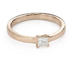 """Помолвочное кольцо с алмазами """"Принцесса 95"""""""