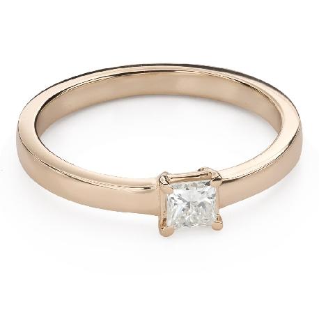 """Saderināšanās gredzens ar Dimantiem """"Princese 95"""""""