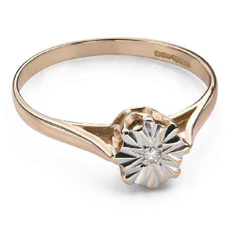 """Помолвочное кольцо с Aлмазом """"Возлюбленный 133"""""""