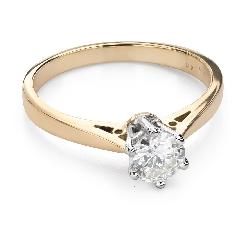 """Помолвочное кольцо с Бриллиантом """"Единственная 120"""""""
