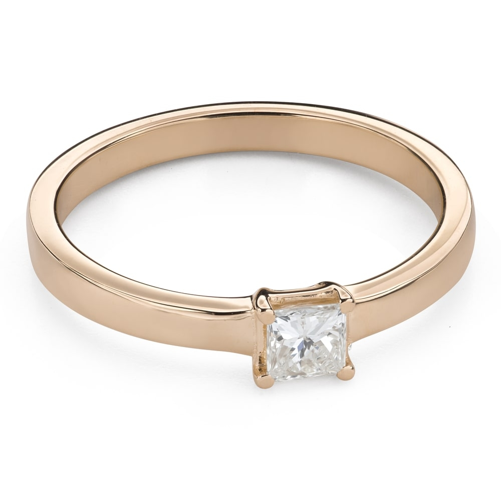 """Saderināšanās gredzens ar Dimantiem """"Princese 96"""""""