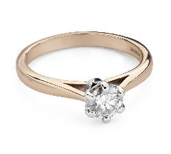 """Помолвочное кольцо с Бриллиантом """"Единственная 121"""""""