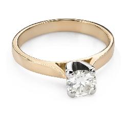 """Помолвочное кольцо с Бриллиантом """"Богиня 140"""""""