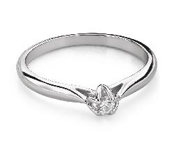 """Saderināšanās gredzens ar Dimantu """"Dieviete 142"""""""