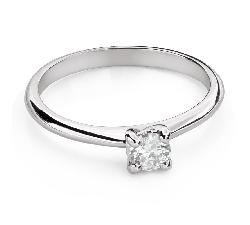 """Помолвочное кольцо с Бриллиантом """"Богиня 143"""""""