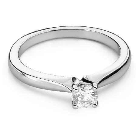 """Помолвочное кольцо с Бриллиантом """"Богиня 144"""""""