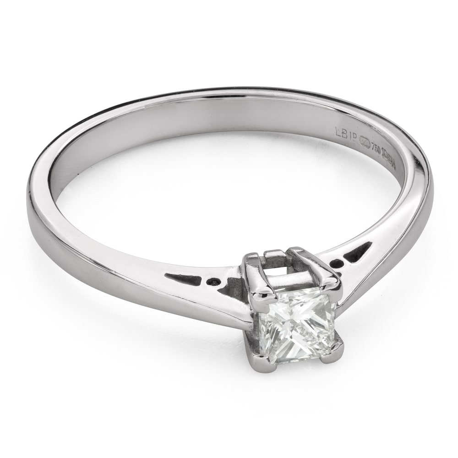 """Saderināšanās gredzens ar Dimantiem """"Princese 98"""""""