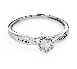 """Saderināšanās gredzens ar Briljantu """"Mīļais 136"""""""