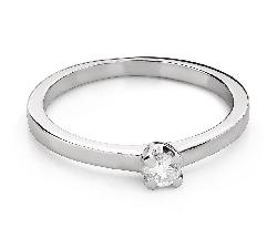 """Помолвочное кольцо с Бриллиантом """"Богиня 147"""""""