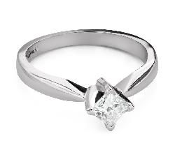 """Помолвочное кольцо с Aлмазом """"Принцесса 99"""""""