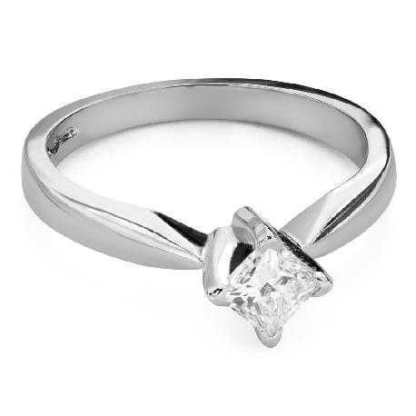 """Saderināšanās gredzens ar Dimantu """"Princese 99"""""""