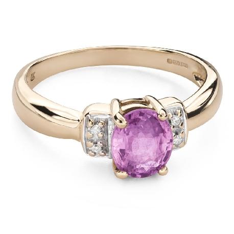 """Zelta gredzens ar dārgakmeņiem """"Krāsas 92"""""""