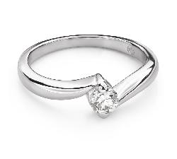 """Saderināšanās gredzens ar Briljantu """"Mīlestības apskāvienos 56"""""""