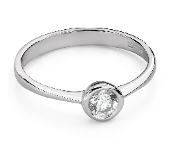 """Помолвочное кольцо с Бриллиантом """"Среди скал 39"""""""