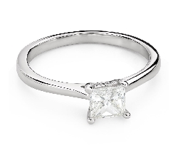 """Saderināšanās gredzens ar Dimantiem """"Princese 101"""""""