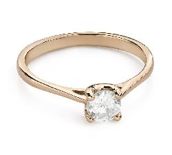 """Saderināšanās gredzens ar Briljantu """"Dieviete 150"""""""