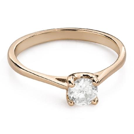 """Помолвочное кольцо с Бриллиантом """"Богиня 150"""""""