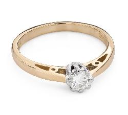 """Помолвочное кольцо с Бриллиантом """"Единственная 127"""""""