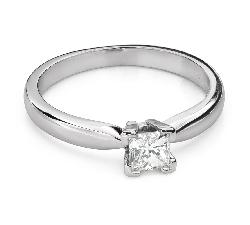 """Saderināšanās gredzens ar Dimantiem """"Princese 102"""""""
