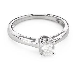 """Помолвочное кольцо с Бриллиантами """"Грациозность 137"""""""