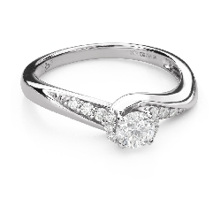 "Помолвочное кольцо с Бриллиантами ""Вихрь 39"""