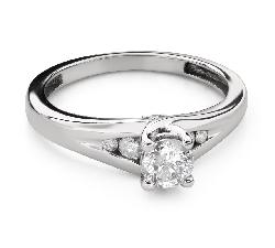 """Помолвочное кольцо с Бриллиантами """"Грациозность 138"""""""