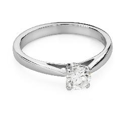 """Помолвочное кольцо с Бриллиантом """"Чистая 50"""""""