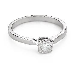 """Помолвочное кольцо с Бриллиантом """"Возлюбленный 142"""""""
