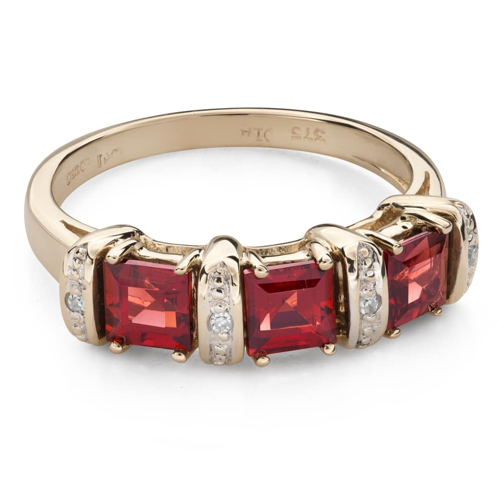"""Золотое кольцо с драгоценными камнями """"Краски 95"""""""