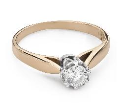 """Помолвочное кольцо с Бриллиантом """"Единственная 132"""""""
