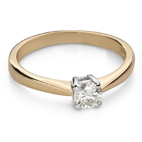 """Помолвочное кольцо с Бриллиантом """"Прочность 112"""""""