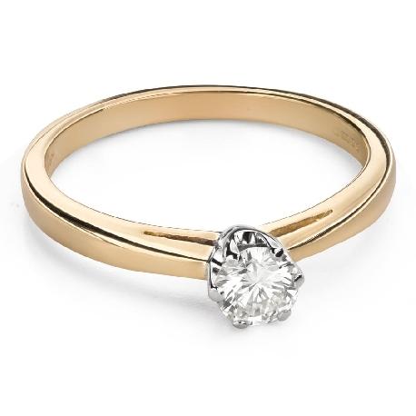 """Помолвочное кольцо с Бриллиантом """"Чистая 52"""""""