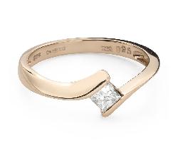 """Saderināšanās gredzens ar Dimantu """"Princese 106"""""""